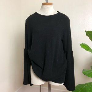 Zara bell sleeve fleece